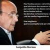 """Logo Leopoldo Moreau: """"Que el derecho lo aniquilen o lo rompan jueces y fiscales es un delito enorme""""."""