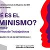 Logo Eugenia Almeida invita a la charla ¿Qué es el Feminismo?