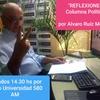 """Logo Columna Política """"REFLEXIONES"""" por Alvaro Ruiz Moreno en Radio Universidad 580 AM"""