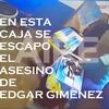 "Logo Se fugo en una caja de ""banana"" de la cárcel de Piñero el asesino de Edgar Giménez"