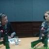 "Logo Lilian Tintori de Lopez en entrevisa en ""Contrapeso"" con Gerardo Blyde"