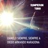 """Logo Roberto Rock: """"DAMELO SIEMPRE A DIEGO ARMANDO MARADONA"""" // Rompieron Todo- 30/10/20"""