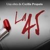 Logo La 45 con Juan Carlos Beltrán en FM Music