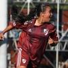 Logo Bloque de fútbol femenino: nota con la goleadora Carolina Birizamberri