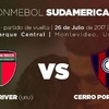 Logo BOSTON RIVER vs CERRO PORTEÑO , 26/7/2017