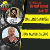 Logo Rebelde Amanecer Programa Nº 10: Entrevista a Juan Manuel Salgado y Emiliano Sanhueza