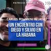 Logo Carlos Polimeni relata encuentro de Silvio y Diego en La Habana. Patricia Malanca en Nuestras Voces