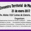 Logo Primer encuentro territorial de mujeres lomenses hablamos con Natalia Valle @mumala