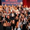 """Logo Las """"feas sucias y malas"""" de hoy: Mujeres sindicalistas, la paridad como meta"""