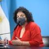 Logo Carla Vizzotti, ministra de Salud de la Nación, en #CaballeroDeDía