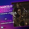 """Logo Marcelo Gabriel """"Corvata"""" Corvalán Cantante y Bajista de """"Carajo"""" en Nitro Club"""