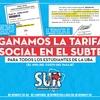 Logo TARIFA SOCIAL EN EL SUBTE / Dalila Duek, Consejera Estudiantil del Movimiento Sur
