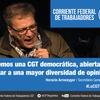 """Logo Horacio Arreceygor Sec Gral SATSAID """"Lombardi no explica que proyecto tiene para los medios públicos"""