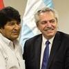Logo Ariel Basteiro habló sobre la reunión de Evo Morales y Alberto Fernández