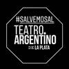 Logo Jornada de protesta de los trabajadores del Teatro Argentino