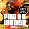Logo Palo y a la Bolsa. Programa completo del 25 de julio