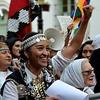 Logo Moira Milla: mujer, indígena, resistencia