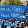 """Logo """"Sectores sindicales, pymes y cooperativas plantean alianza del trabajo y producción nacional"""""""