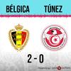 Logo Gol de Bélgica: Bélgica 2 - Túnez 0 - Relato de rpp-peru