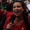 Logo Entrevista Belén Spinetta - Campaña por la Emergencia Nacional en Violencia