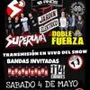 Logo Radio de Salón - Superuva en el Salón Pueyrredón - Sábado 04 de Mayo de 2019