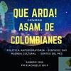 Logo  QUE ARDA! Segunda temporada ASAMBLEA DE COLOMBIANXS