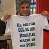 Logo Héctor Enrique en CIELOSPORTS a 34 años de Argentina vs Inglaterra en México 1986