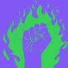 Logo  NI UNA MENOS - bloque n°1  - Programa: SIN PATRÓN