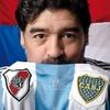 Logo Diego Armando Maradona, según Aníbal Fernández