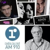 """Logo """"Canciones para decir adiós"""" en Marca de Radio con Eduardo Aliverti en La Red AM 910"""