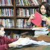 Logo ¿Qué tienen las bibliotecas?  por Romina Backus