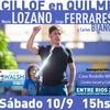 Logo Roberto Caballero convocando a la inauguración de la Casa Rodolfo Walsh en Quilmes