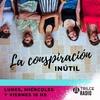 Logo La Conspiración Inútil, programa del 14 de abril