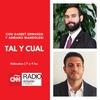 Logo Tal y Cual - 1x33 (16/11/19) - CNN Radio Rosario - Entrevista a Mauricio Ríos García