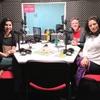 """Logo Yamila Ulanovsky y Analía Yáñez con Luis Formaiano en """"Susurros en tus odios"""""""