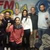 """Logo """"VAMOS LA COPA DE LECHE """" ((Radio)) transmitimos desde FM LA BOCA 90.1"""