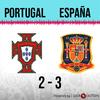 Logo Gol de España: Portugal 2 - España 3 - Relato de @oriental770
