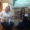 Logo #EsAcoso. La campaña de las mujeres de Coop. Gráfica Campichuelo