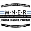 Logo Empresas recuperadas, trabajo generado por los trabajadores.