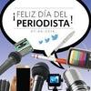 Logo En La Tiza Rebelde ¨La escuelas de comunicacion de Berazategui saludos a los Periodistas en su dia¨