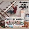 Logo Leandro Díaz Romero en Revuelto de Radio