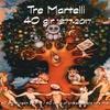 """Logo Presentazione dell'album """"40 gir"""" dei Tre Martelli a Radio WU (Argentina)"""