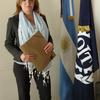 Logo @libermanOnLine María José Alzugaray, secretaria general del Sindicato de Empleados Funerarios