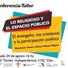 """Logo """"En la Historia, la Relación entre Religión y Política No Es Nueva"""""""