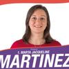 logo Marta Martínez en debate de candidatos a la Legislatura de CABA