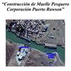 Logo ¡Arriba Capital!: muelle pesquero Corporación Puerto Rawson