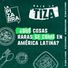 Logo Bajo la tiza: comidas exóticas en América Latina