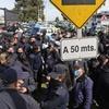 """Logo Protesta policial: """"parece más una extorsión que un reclamo salarial"""""""