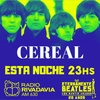 Logo Cereal en Eternamente Beatles (15 de Diciembre 2018)