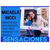 Logo #SensacionPersonal con Micaela Ricci